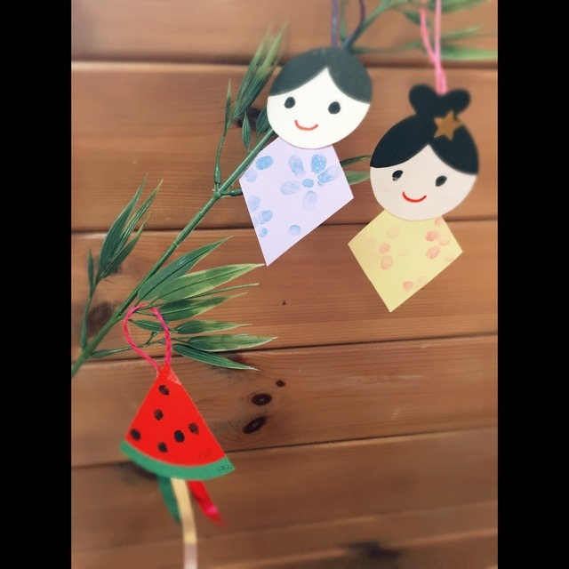 【アプリ投稿】七夕製作 0歳児