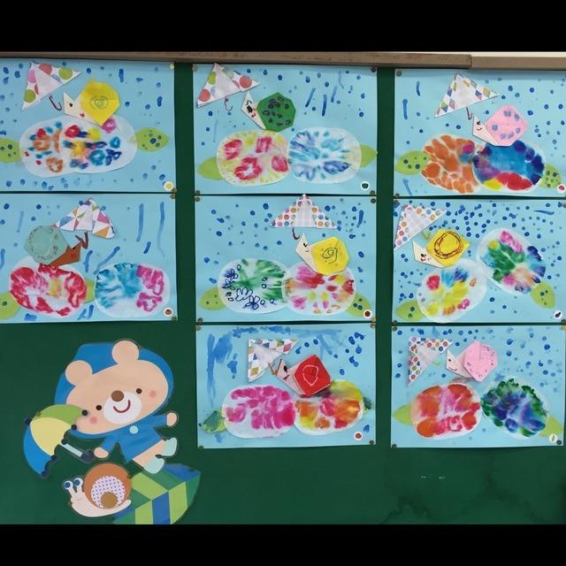 【アプリ投稿】5歳児 6月製作