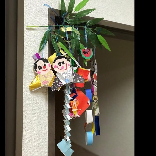 【アプリ投稿】七夕製作🎋 4.5歳児