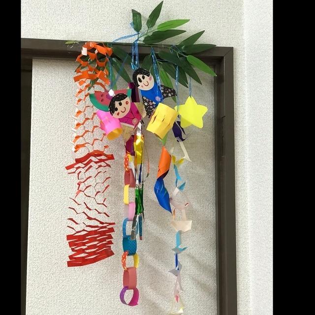 【アプリ投稿】七夕製作🎋 4.五歳児