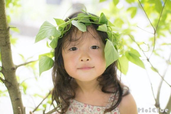 【自然遊び】つる植物の髪飾り〜素材/つる植物〜