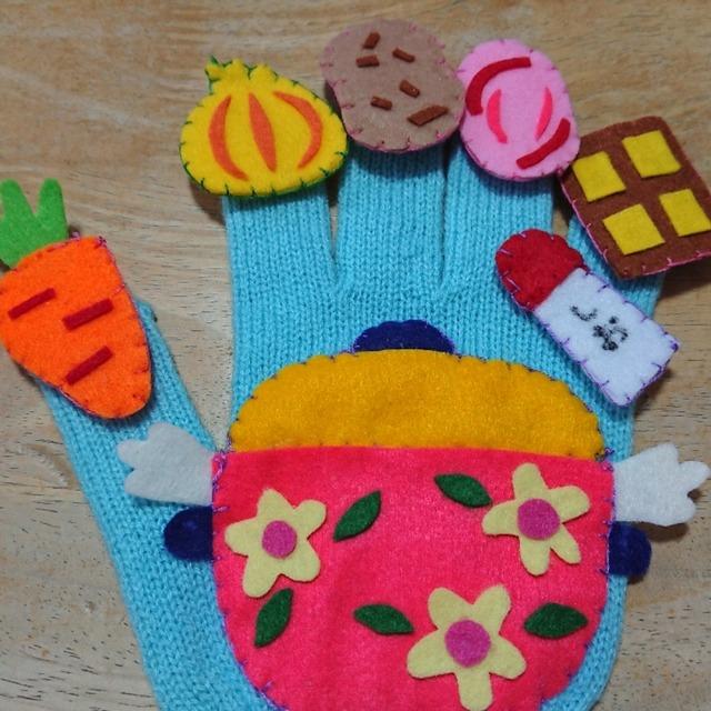 【アプリ投稿】カレーライスの手袋🧤シアターです。