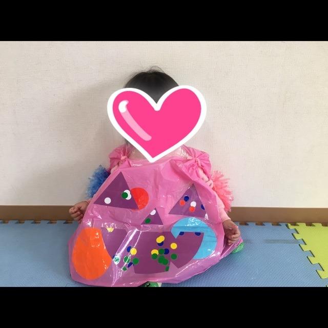 【アプリ投稿】0歳児製作 ハロウィン衣装