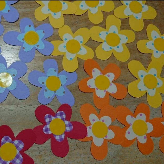 【アプリ投稿】お花の飾り