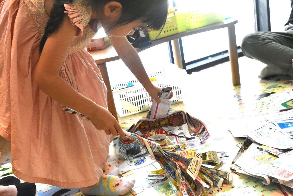 チラシから広がる遊びの世界〜コドモガラクタラボ レポート 2019年9月〜