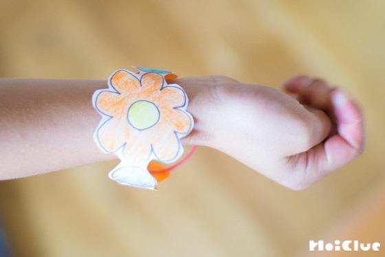 【工作コラム】折り紙で作るブレスレット〜素材/折り紙〜