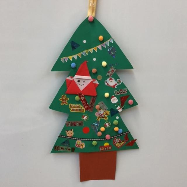 【アプリ投稿】クリスマススツリー 製作