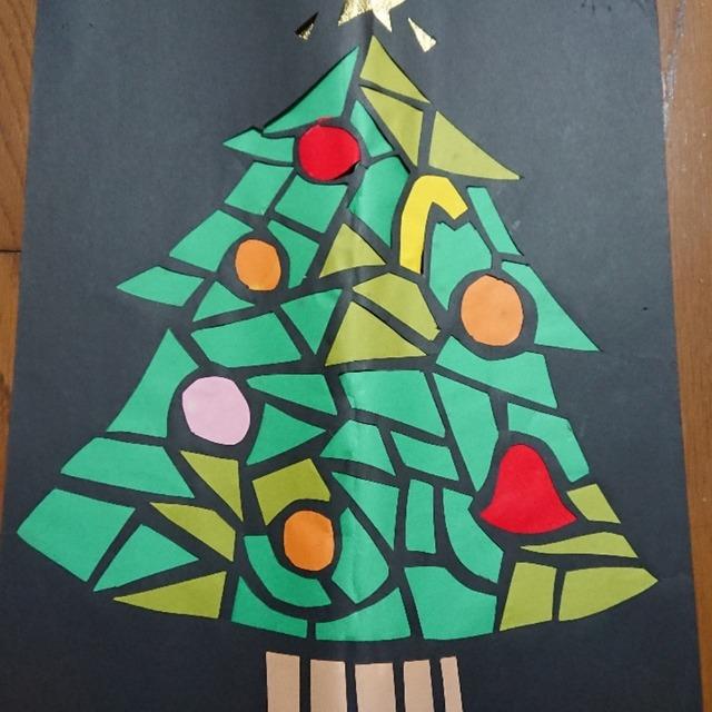 【アプリ投稿】クリスマスツリー、ステンドグラス風