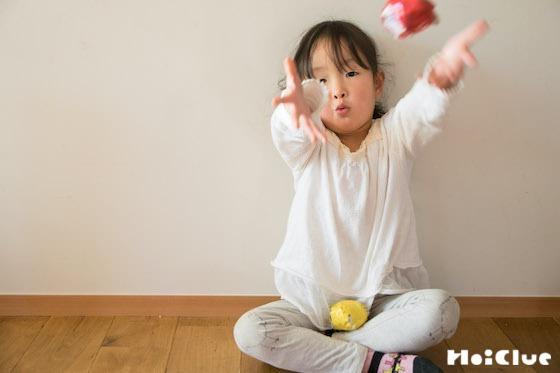 【工作コラム】新聞紙お手玉のつくりかた〜素材/新聞紙〜