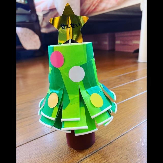 【アプリ投稿】【クリスマスツリー(1歳児)】