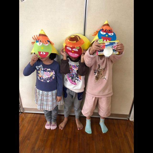 【アプリ投稿】4歳児 鬼のお面👹