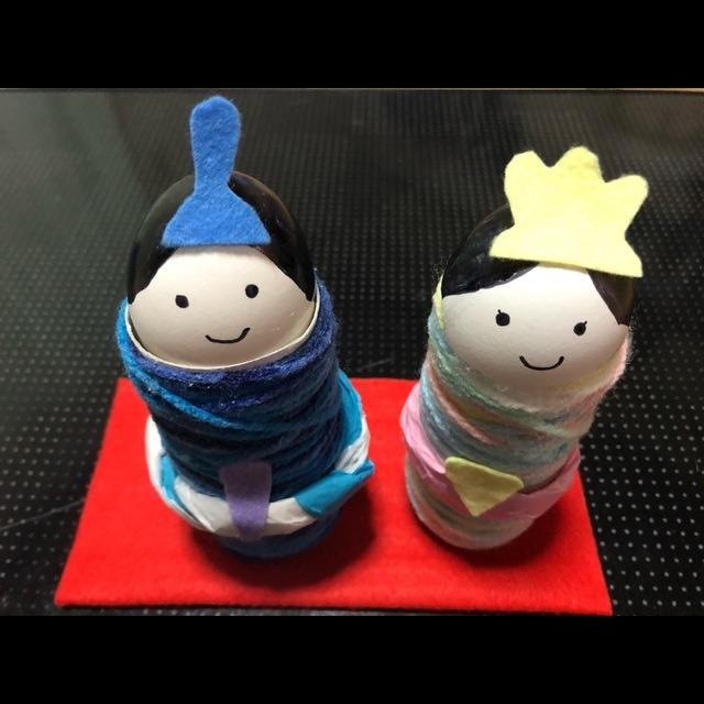 【アプリ投稿】〜雛人形 卵の殻〜