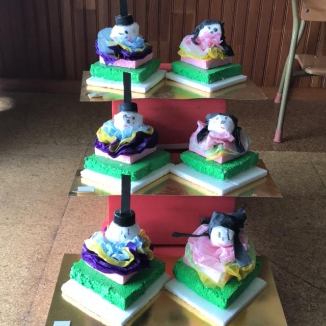 【アプリ投稿】2歳児クラス 菱餅