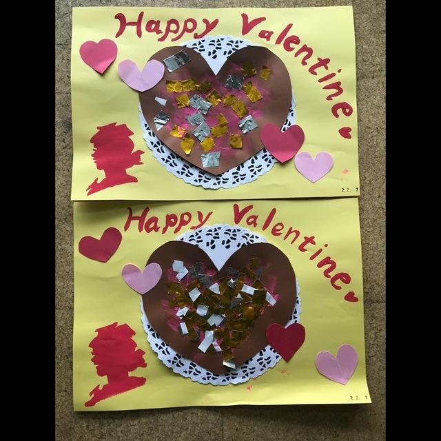 【アプリ投稿】2歳児バレンタイン