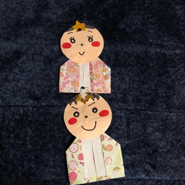 【アプリ投稿】七夕飾り おりひめ ひこぼし