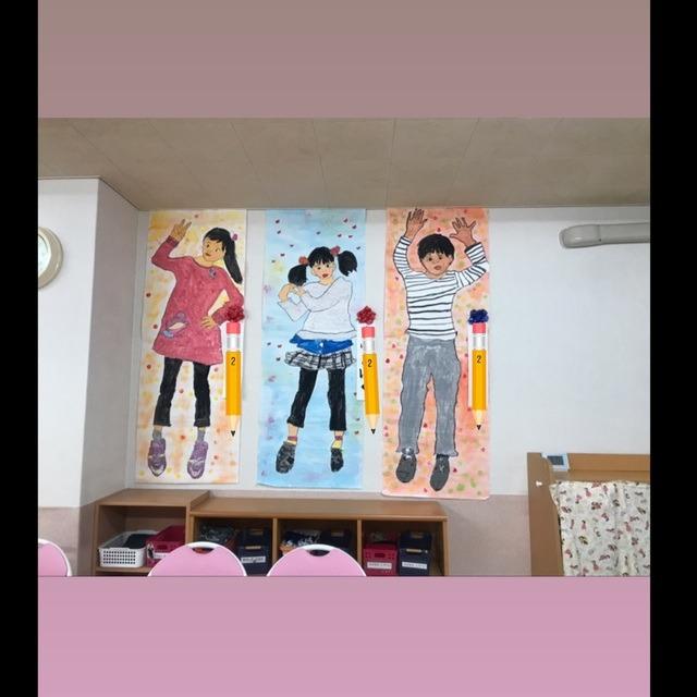 【アプリ投稿】卒園式  等身大壁面