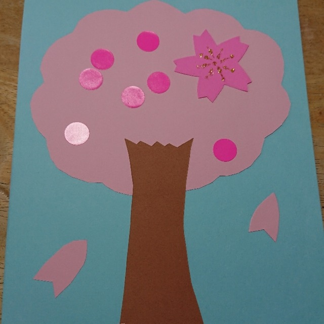 【アプリ投稿】4月、桜🌸の製作です‼️