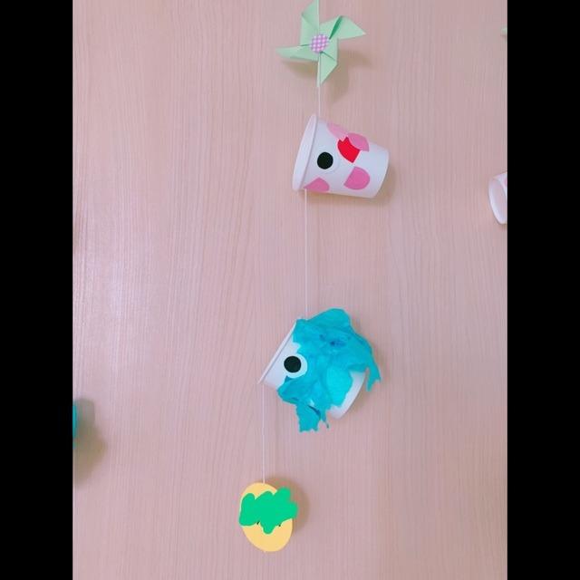 【アプリ投稿】こいのぼり製作。2歳児