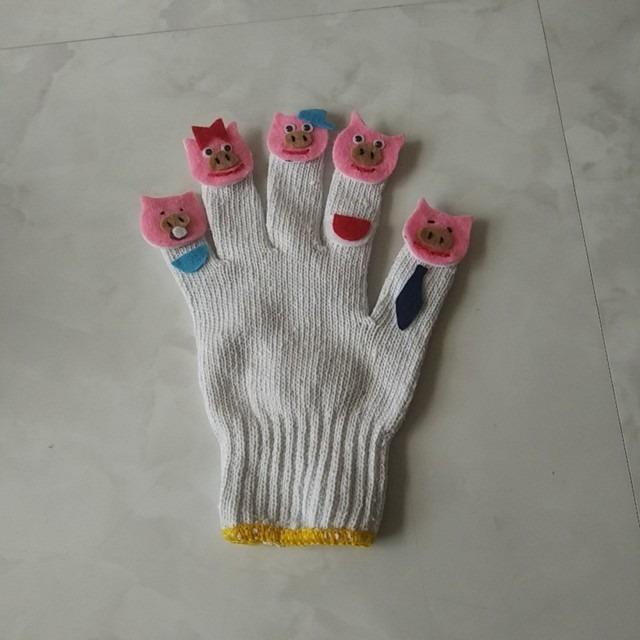【アプリ投稿】手袋シアター ぶたの家族