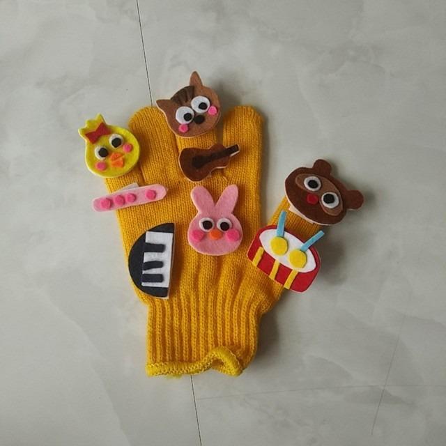 【アプリ投稿】手袋シアター 森の音楽家