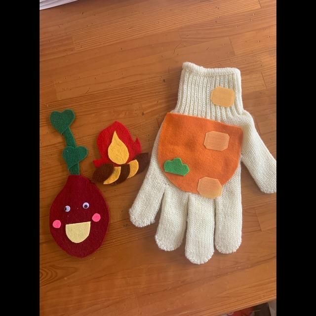 【アプリ投稿】やきいも手袋シアター