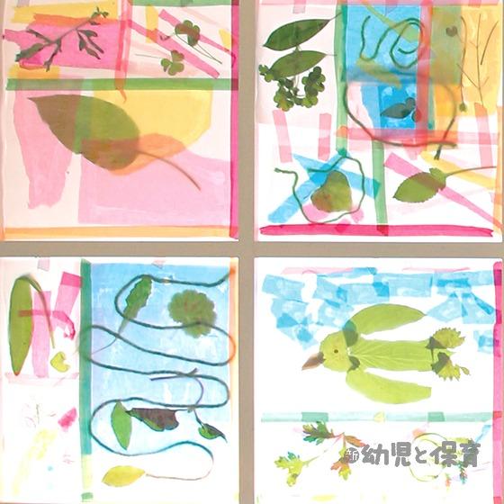 日差しを楽しむ 夏のウインドウ・アート 〜第1回 挟んでラクラク! パッチワーク・ウインドウ~