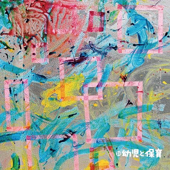 日差しを楽しむ 夏のウインドウ・アート 〜第2回 のり絵の具をペタペタ! カラフル・ウインドウ~