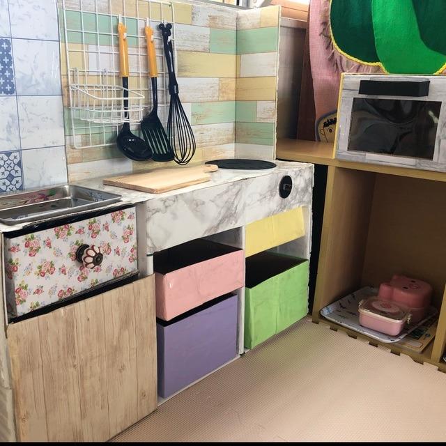 【アプリ投稿】手作りキッチンです!