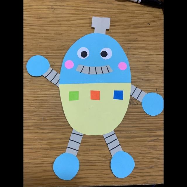 【アプリ投稿】【壁面】ロボット
