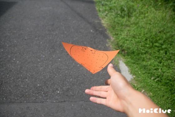 【工作コラム】ぴゅーんと飛ぶ!折り紙ムササビ!〜素材/折り紙〜