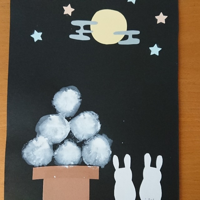 【アプリ投稿】中秋の名月…お月見🎑のお団子
