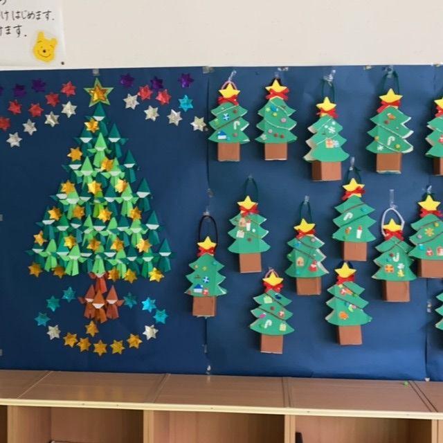 【アプリ投稿】クリスマスツリーの壁面
