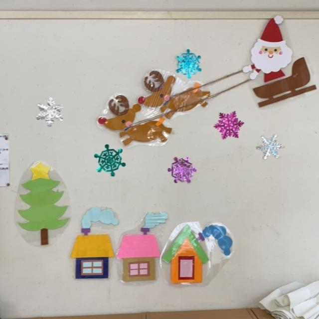 【アプリ投稿】クリスマス壁面 サンタクロース