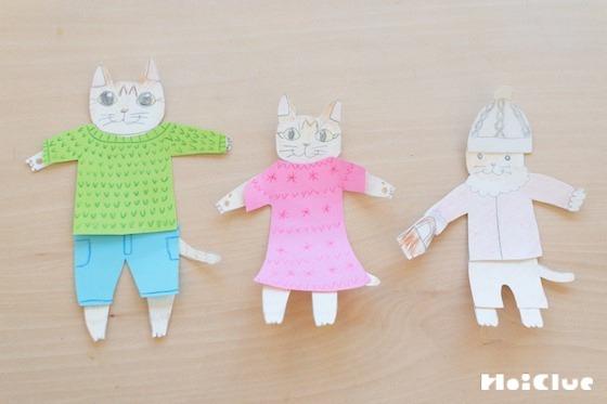 【工作コラム】「貼ってはがせるのり」で、きせかえ人形を作ってみよう!〜素材/貼ってはがせるのり〜