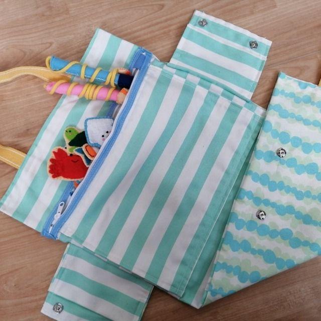 【アプリ投稿】魚つりセット(布おもちゃの鞄)