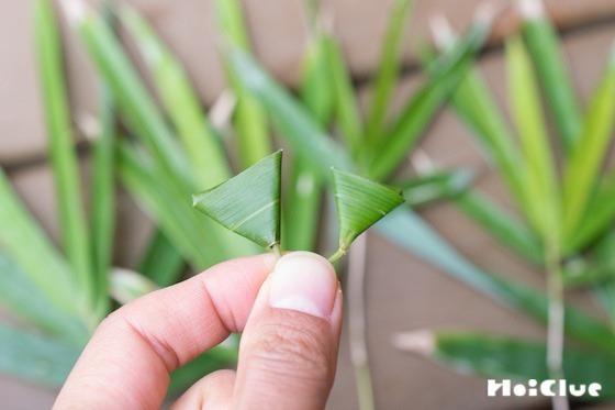 【自然遊び】笹の葉で作る「笹だんご」!〜素材/笹の葉〜