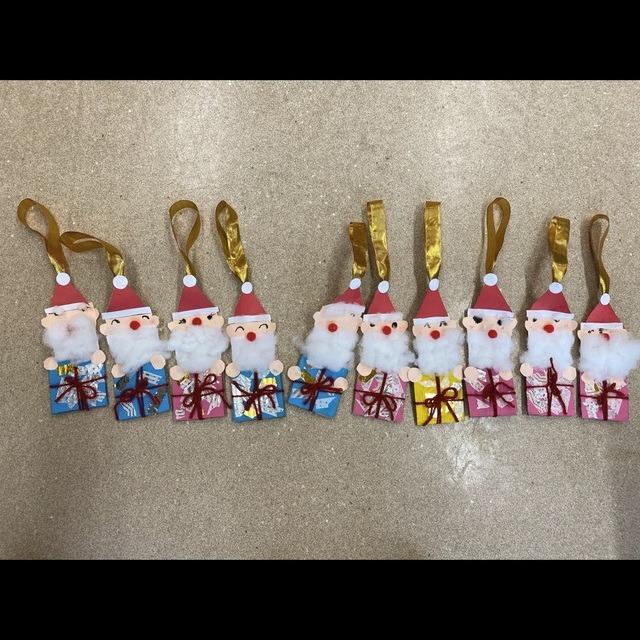 【アプリ投稿】クリスマス製作 4歳児