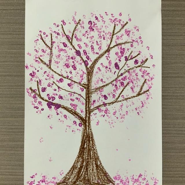 【アプリ投稿】<桜の製作   Cherry Blossom  Craft>