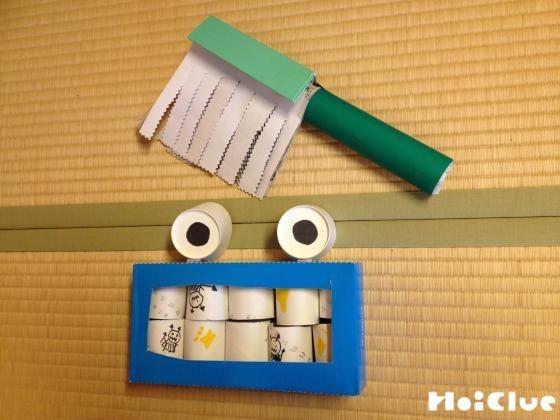歯磨きゴシゴシ〜廃材を使ったはみがきごっこあそび〜