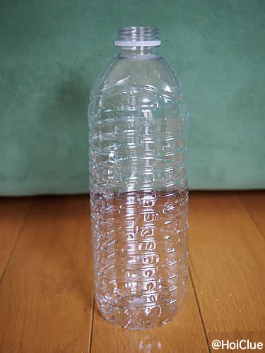 ペットボトルの写真