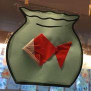 4歳児 折り紙・テープ指導 【材料】折り紙、セロハンテープ、OHPフィルム