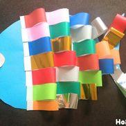 カラフルうろこのにじいろのさかな〜折り紙で楽しむワクワク製作遊び〜