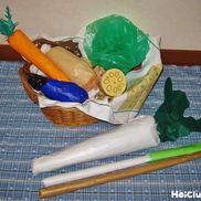 本物みたいなそっくり野菜〜ごっこ遊びにぴったりの製作遊び〜