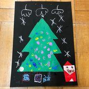 12月製作帳 クリスマスツリー