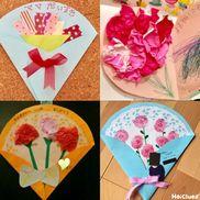 みんなの母の日プレゼントアイディア集<乳児さん編>〜贈りものにうれしい製作遊び〜
