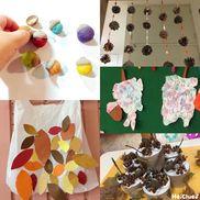 みんなの秋の製作アイディア〜どんぐり、ぶどう、トンボにまつぼっくりまで大集合!〜
