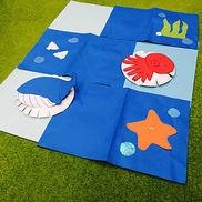 お魚フリスビー〜作って遊べる手作りおもちゃ〜
