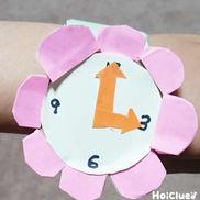 お花の腕時計〜ブレスレット風♪オシャレアイテム〜