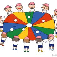パラバルーン(ポップコーン)〜ボールを使った動きのある表現方法〜