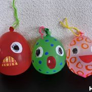 おばけヨーヨー〜表情の変化がおもしろい!夏にぴったり水風船遊び〜